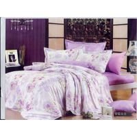 100%cotton twill bedding sets with reactive printing