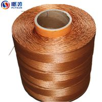dipped polyester cable cord for classical wrapped v-belt
