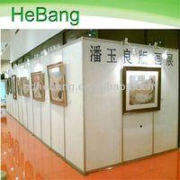 Guangdong 3 PVC Panel Advertising Folding Screen