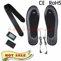 Wholesale Feet Warmer Rechargerable Battery heating Insoles