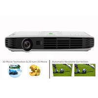Portable DLP LED 3D  All In One Projector Home Theater Projector 1080p