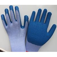 work safety latex coated gloves