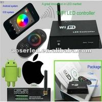 ISO and Anodrid remote RF RGB LED WIFI Controller
