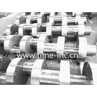 35CrMo6 heavy duty forged Crankshaft