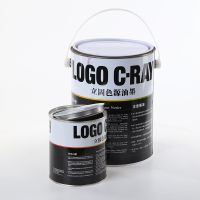 1L to 5L paint can customized printing metal tin can gallon paint can