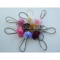 Organza Ribbon Bow with Elastic Rope