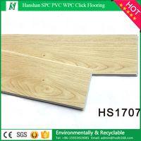 Waterproof and fire proof non-slip eco wood look LVT commercial luxury click lock vinyl plank floor thumbnail image