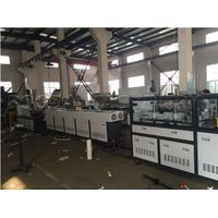 PVC electric conduit pipe making machine / Double pipe extrusion line thumbnail image
