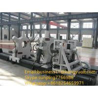 Oilfield equipment hydraulic bucking unit