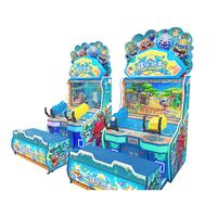 Indoor Coin Operated Redemption Arcade Game Machine, Shooting Game Machine Funny Shooting for sale