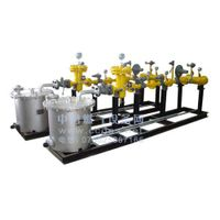 Natural gas pressure regulating prize