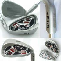 PING G15 Iron Set Golf Iron Golf Club 4-PW, SW with Steel Shafts thumbnail image