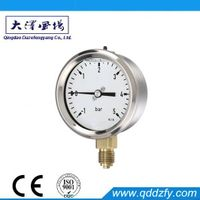 50mm oil filled glycerin gauge pressure