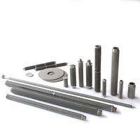 Sintered Metal Fiber Felt Filter Cartridges, In-depth Filtration with Higher Porosity and Dirty Hold