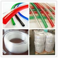 pvc clear flxible non toxic multi size available highest pressure 1/4 to 2 inch transparent hose