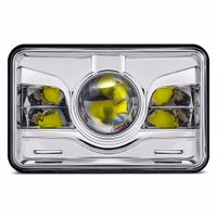 ALP auto part H/L beam square 4x6 led headlight replacement for car truck
