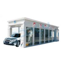 China manufacturer automatic tunnel wash machine CE with 11 brushes