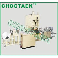 Aluminium Foil Container Machine With Stacker