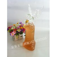 750ml glass bird bottles tercel decanterEagle shaped wine bottle