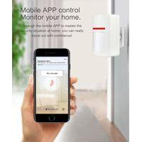 Enerna IoTech WiFi Wireless Smart Home Burglar PIR Motion Alarm Detector