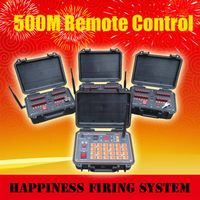 72 channels Salvo and Sequential (Rapid) fire Wireless 500M Remote Control Fireworks Firing System (