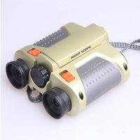 4x30 sky-watch telescope, kids binoculars with pop-up light thumbnail image