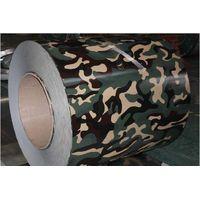 Camouflage grain pattern PPGI prepainted galvanized steel coil