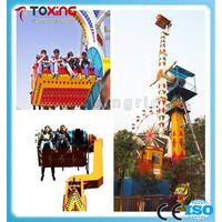 thrilling outdoor amusement rides scream rides