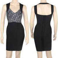Black Bandage Dress Evening Dress