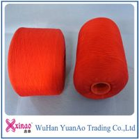 polyester fancy yarn used for sewing wedding dress and sock knitting colored yarn thumbnail image