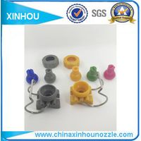 Pretreatment water spray pipe fittings adjustable clamp nozzle thumbnail image
