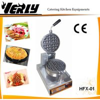 Electric snack machine maker/ single Rotary Waffle baker with timer thumbnail image