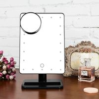 Hollywood style table makeup mirror with adjustable brightness 20 LEDs thumbnail image