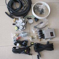 Multi-point sequential system complete set of CNG conversion kits for vehicle
