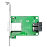 Linkreal 2 Port SFF-8644 to SFF-8643 Transfer Card