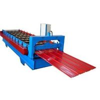 Double-side color steel insulation board making machine/equipment