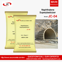 Jingcheng Jc-04 India concrete use sulfonated naphthalene formaldehyde Naphthalene sulfonate supplie thumbnail image