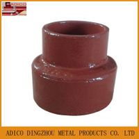 EN877 cast iron drainage reducer pipe fitting