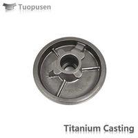 Titanium cover Ttitanium casting parts Grade 2 corrosion resitance