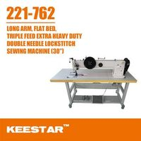 keestar 221-762 double needle sewing machine