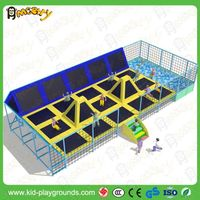 Made in China factory price large Dodgeball Trampoline Park in Trampolines thumbnail image