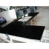 Black quartz kitchentop