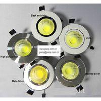 COB LED down light ajustable