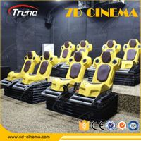 2016 NEW Product entertainment 5d cinema movies motion 5d cinema chair motion 5d cinema