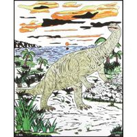 "Rili 16""*20"" Dinosaur Paper Art and Craft Children"