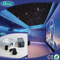 Fiber optic lighting kit 188pcs residential fiber optic lighting with three different size fiber+5W  thumbnail image