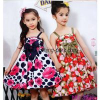 Children clothes 3522 dress girl dress thumbnail image