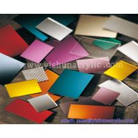 Manufacturering mirror acrylic sheet with different colors