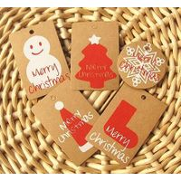 gift tags kraft blank with metal eyelet