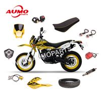 Comfortable Motorcycle Seat Assy and body parts for Italika DM150 thumbnail image